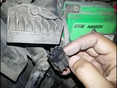 How To Check Regulator Rectifier Circuit Function And Battery