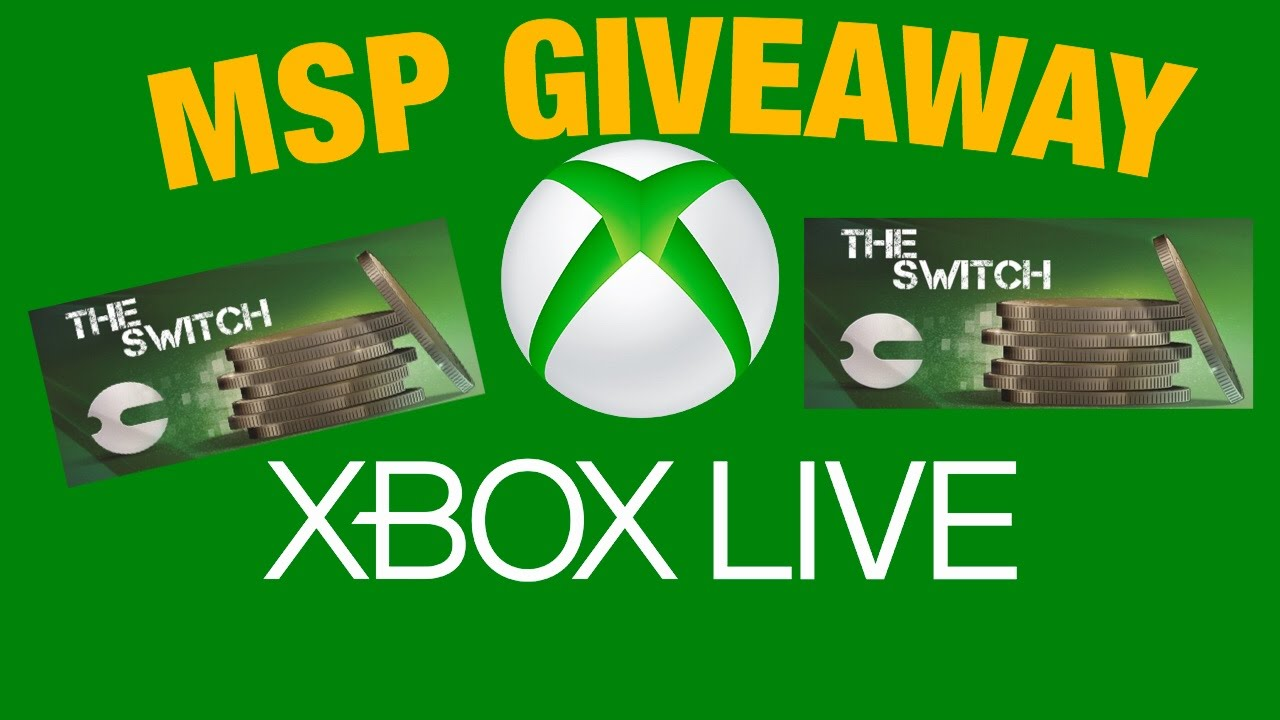 Free xbox microsoft points giveaways