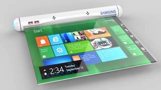Samsung Flexible Roll Tablet New Concept ᴴᴰ