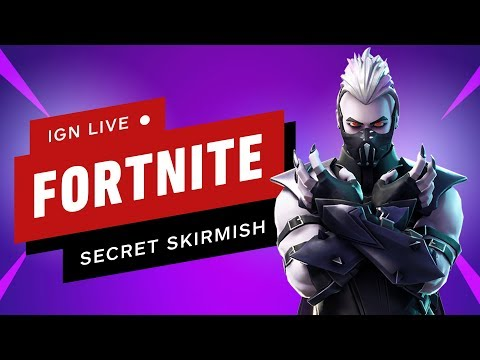 Fortnite Secret Skirmish (Day 1) - IGN Live thumbnail