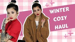 HAUL: Teddy παλτό, cozy πουλόβερ • Venetia Kamara