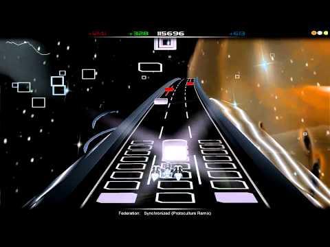 Federation - Synchronized (Protoculture remix) (Audiosurf run)