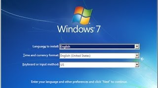 Windows7 installation tutorial Malayalam