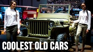 The Coolest Old Cars Of Geneva 2016