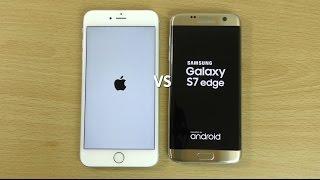 Samsung Galaxy S7 Edge VS Apple iPhone 6S Plus - Speed Comparison!