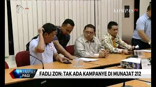 Penuhi Panggilan Bawaslu, Fadli Zon: Saya Hadiri Munajat 212 sebagai Wakil Ketua DPR