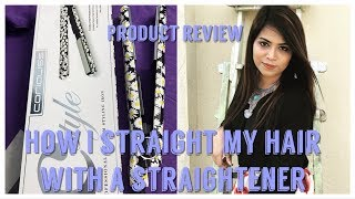 In this video i shared review of corioliss titanium styling iron..H...