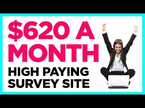 Highest Paying Survey Site Ever - MONTHLY INCOME