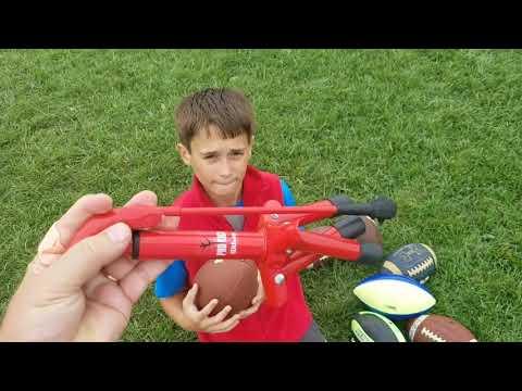 Football Practice Wilson Pro Tee Kicking Stand