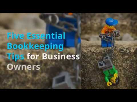 5 Bookkeeping tips for your business