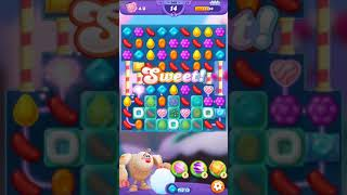 Candy Crush FRIENDS Saga level 143 no boosters
