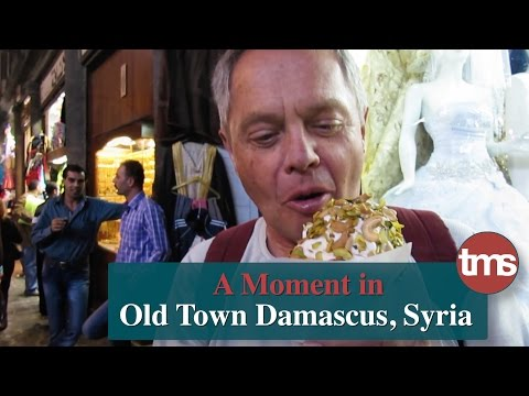 a Moment in Old Town Damascus