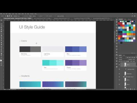 Using Style Guides in Web Design - Workflow of Modern web Design course