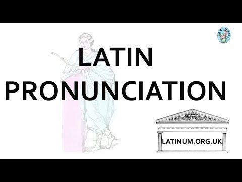 Cogitatum 006 Hidden Quantity in Latin and Bennett's Pronunciation List Read Aloud