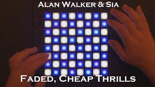 Alan W. & Sia - Faded, Cheap Thrills(f. Hayley Williams, B.o.B,Sean Paul) Launchpad cover by Spinne
