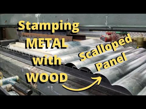 DIY Hydraulic Press Stamping Sheet Metal: Part 1 of 3