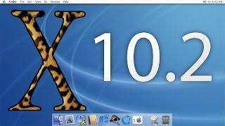 Mac OS X 10.2 (Jaguar) Demo