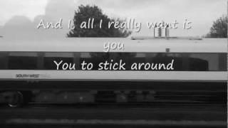 Gavin DeGraw - Follow Through (lyrics+live from the Gatwick Express)