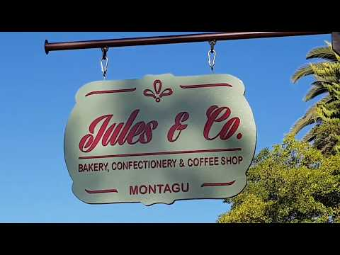 Jules & Co Bakery, Confectionary & Coffee Shop, Montagu, Western Cape, South Africa.