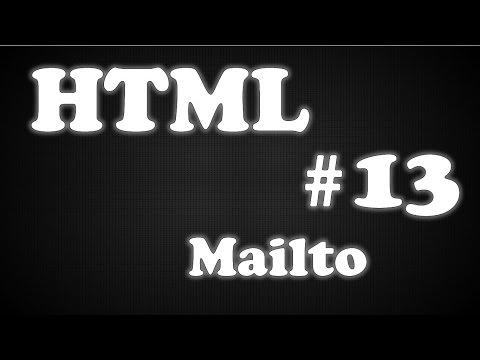 HTML - Aula 13 - mailto