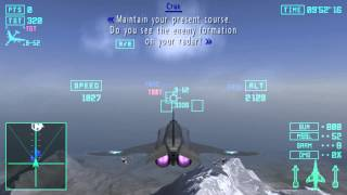 Ace Combat X: Skies of Deception - Mission 1: Skies of Deception + Intro