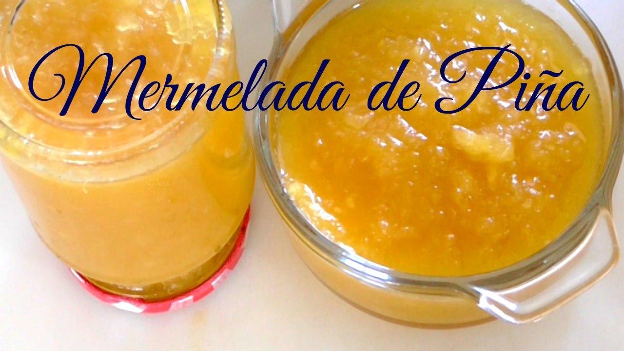 COMO HACER MERMELADA DE PIÑA/MERMELADA CASERA/COCINA