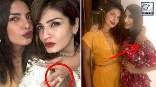 Priyanka Chopra FINALLY Flaunts Engagement Ring At Manish Malhotra