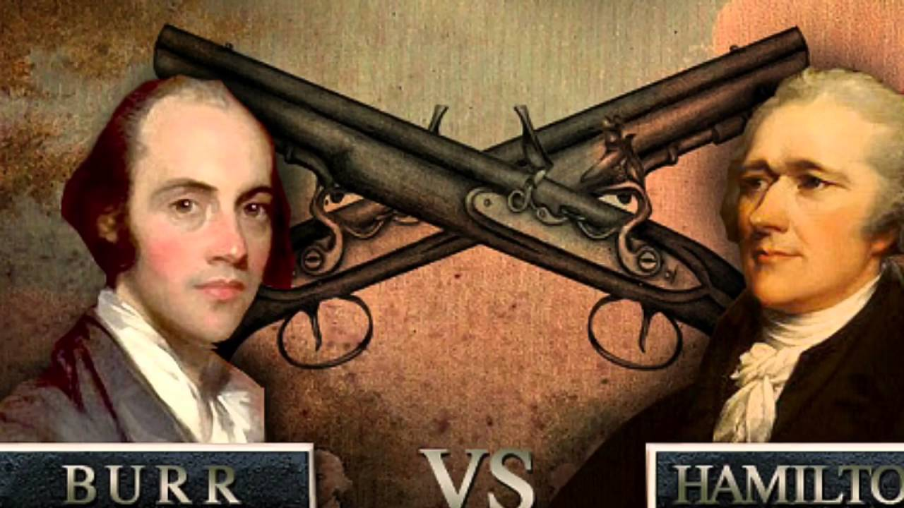 """hamilton vs burr essay Free essay: in the battle between aaron burr and alexander hamilton was   today many history classes are debating """"was the consequences of the the burr  vs."""