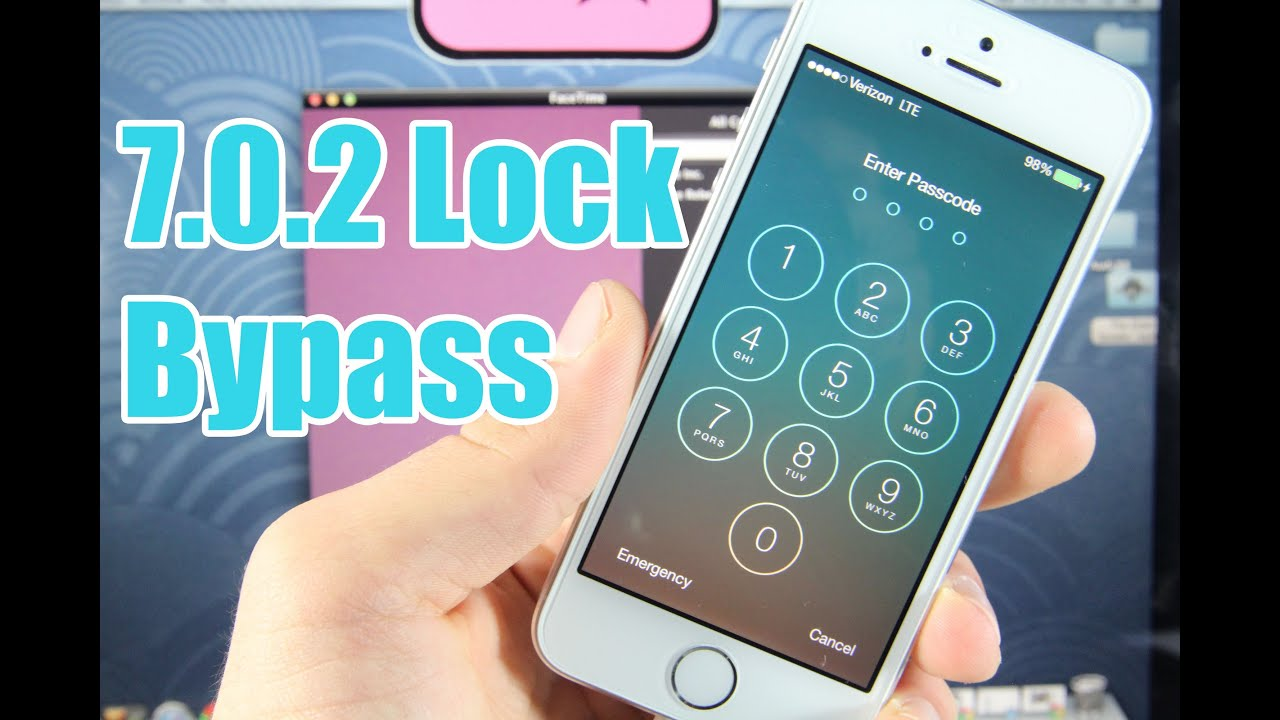 How To Bypass Ios 702 Passcode Lock & Access Iphone 5s, 5c, 5, 4s & 4!   Youtube