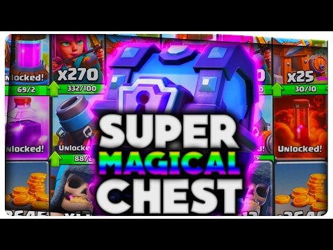 SUPER MAGICAL CHEST | Clash Royale Romania