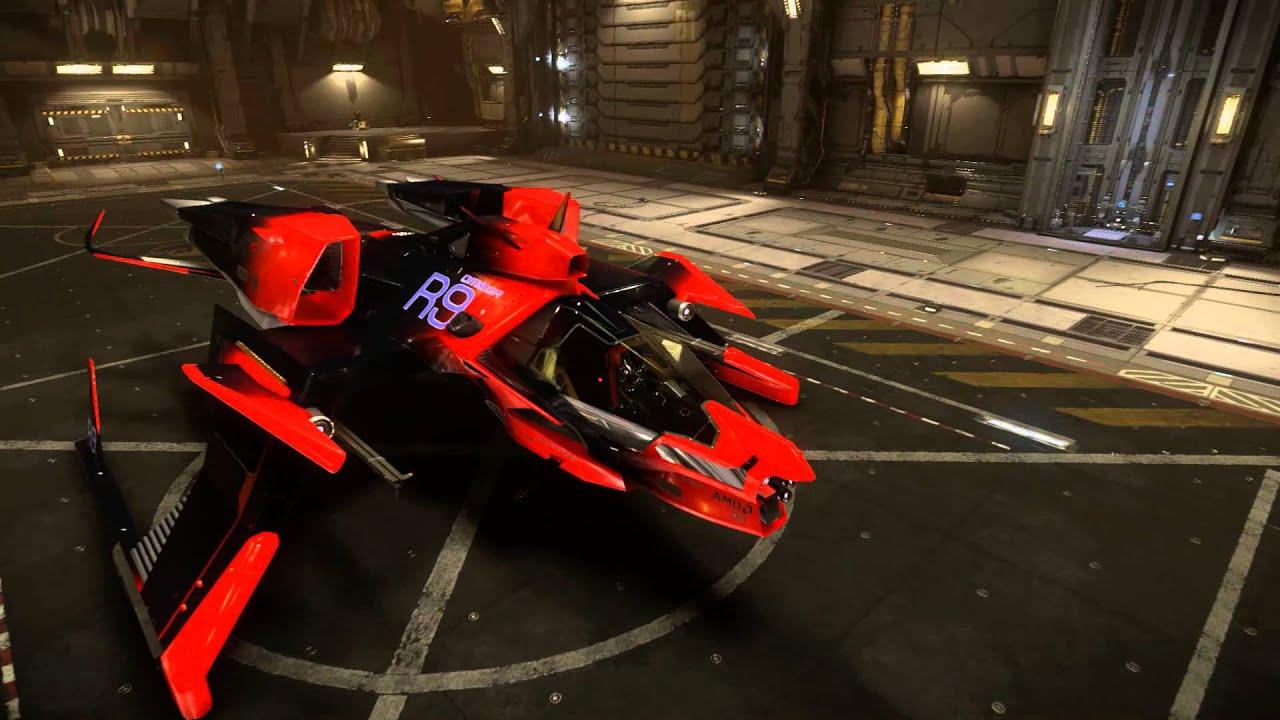 Mustang Omega in Hangar (Screenshots) - RSI Community Forums