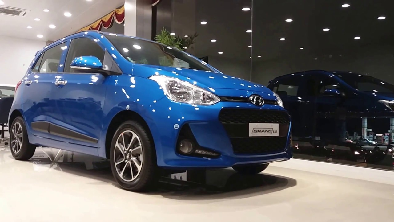 2018 Hyundai Grand I10 Marina Blue Exterior And Interior 1080p