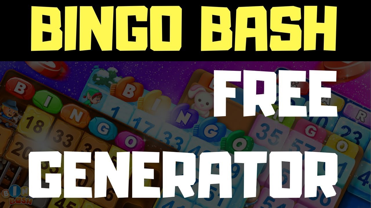 bingo bash free chips iphone