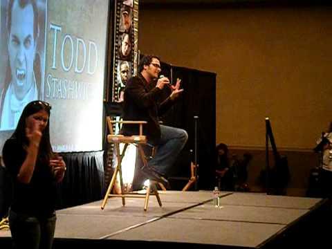 Todd Stashwick Dracula talks about Jensen