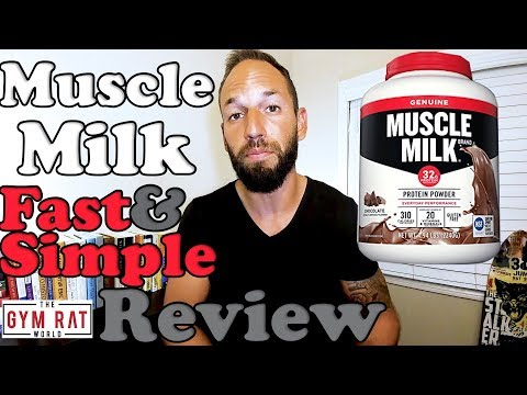 Muscle Milk | Most Popular Protein | 2017 Supplement Review