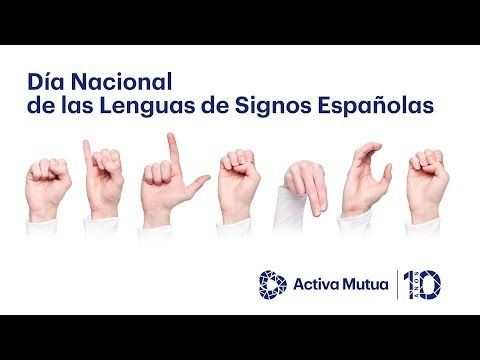 Ver en youtube el video Día Nacional de las Lenguas de Signos Españolas