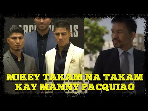 Mikey Garcia stays hopeful to fight Manny Pacquiao