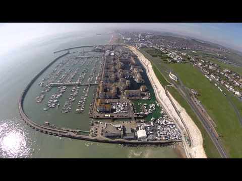 Brighton Marina on Fools Day