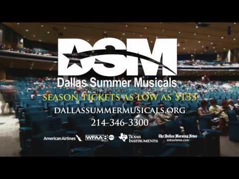 Dallas Summer Musicals 2013/2014 Season Tickets On Sale Now!