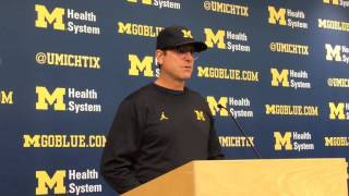 Jim Harbaugh shares thoughts on D.J. Durkin and his job at Maryland