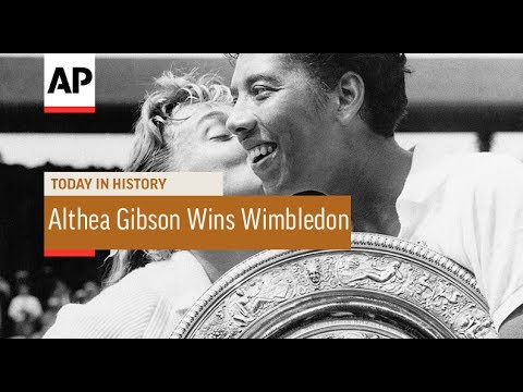 Althea Gibson Wins Wimbledon Singles - 1957 | Today In History | 6 July 17