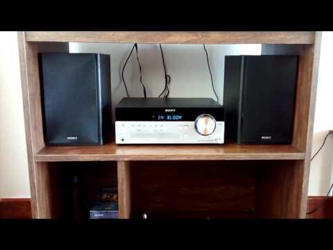 Sony CMTSBT100 Sound Test Micro Hi fi