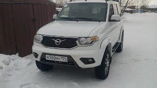УАЗ патриот 5000 км пробега отзыв владельца