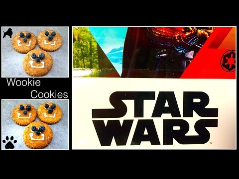STAR WARS DOG WOOKIE COOKIE -THE FORCE BE WITH YOU  PUPPY TREAT DIY Dog Food by Cooking For Dogs