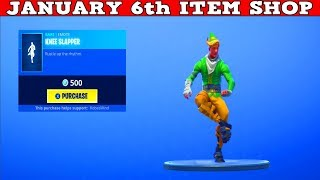 Fortnite Item Shop (January 6th) | *NEW* Country Music Emote lol