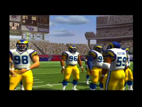 1999 St. Louis Rams 1999 Tennessee Titans Madden NFL 07