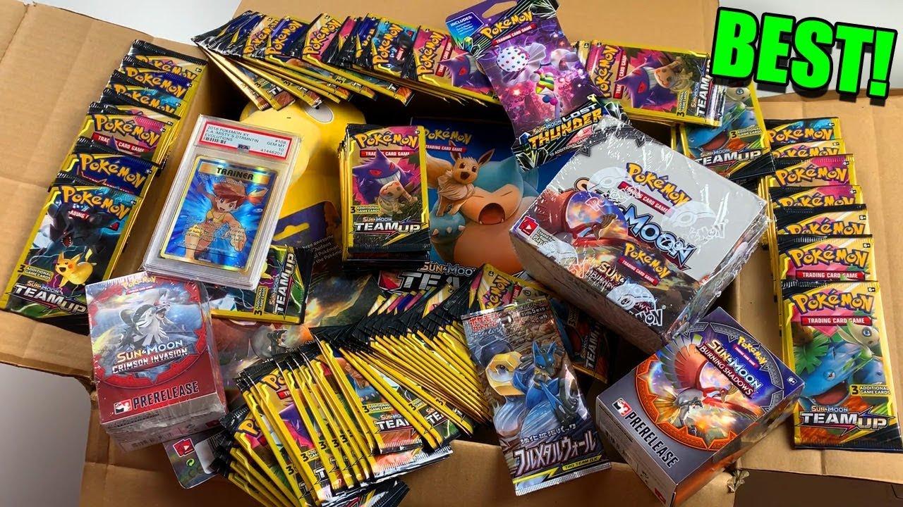 Pokemon Mystery Power Box Opening - YouTube |Pokemon Mystery Box