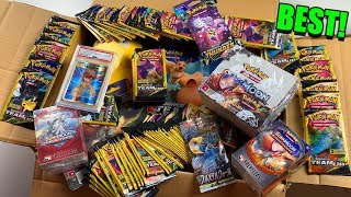 This is the BEST POKEMON CARDS MYSTERY BOX OPENING YOU'LL EVER SEE! (Packs, PSA, & More)