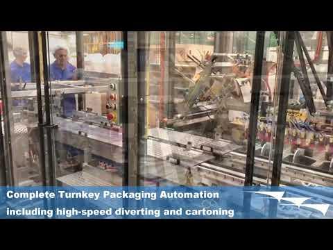 Chocolate Bar Cartoning And Diverting | TK-AFA - AFA Systems