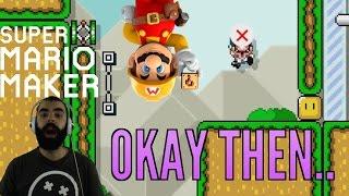 Mario Maker - Super Expert Highlights (Twitch Livestream 10/04/2016)